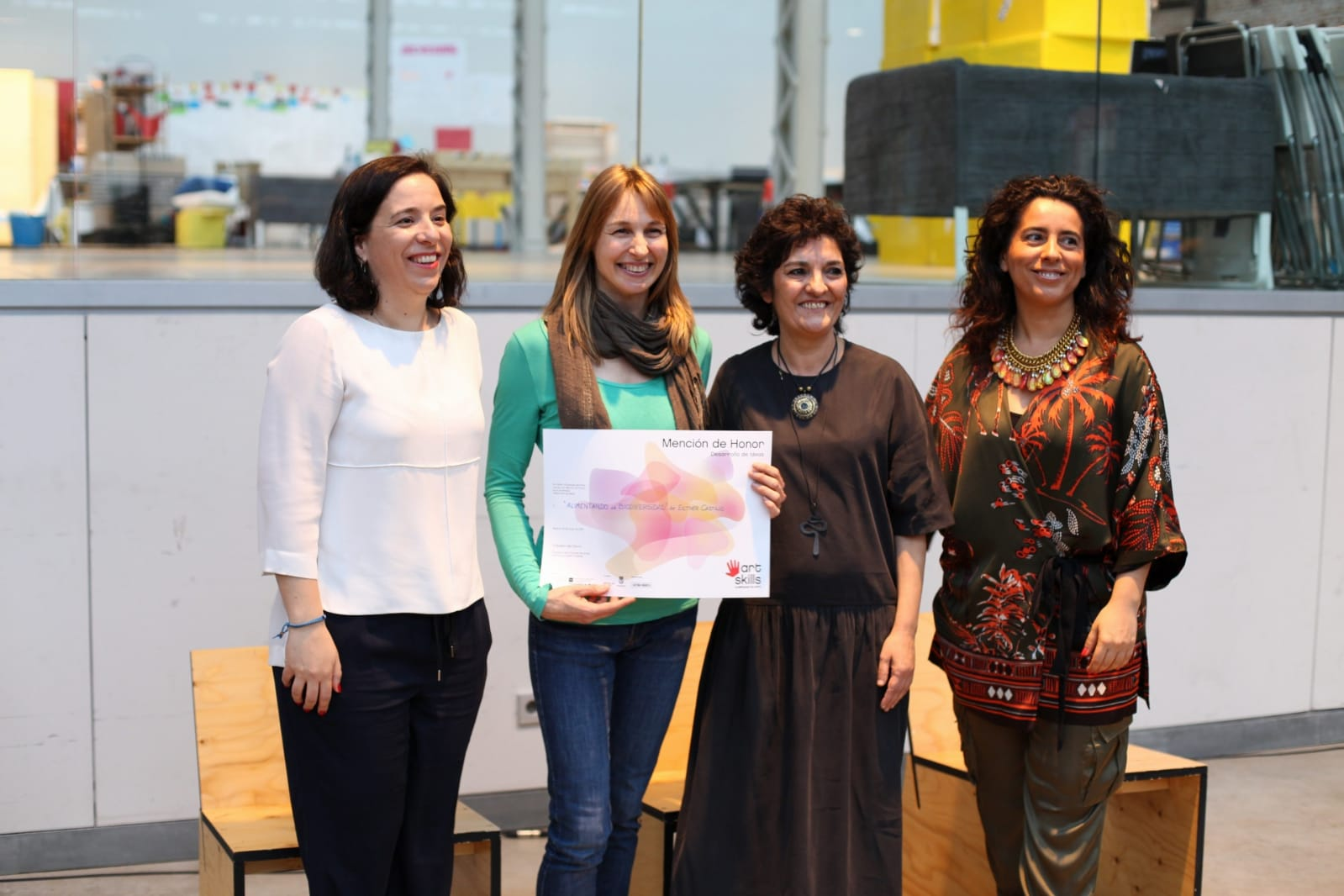 Art Skills 2018, Alimentando la biodiversidad por Esther García Castillo